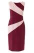 Сукня-футляр з фігурними вставками - фото 2