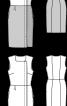 Сукня в стилі колор-блок з асиметричною застібкою - фото 3