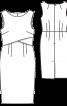 Сукня-футляр з подвійним ліфом - фото 3