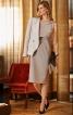 Сукня-футляр з подвійним ліфом - фото 4