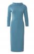 Сукня вузька трикотажна в стилі 60-х - фото 2