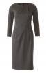 Сукня-футляр відрізна з вирізом човником - фото 2