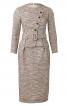 Сукня-футляр з асиметричною застібкою - фото 2