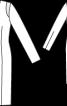 Сукня-футляр атласна з довгими рукавами - фото 3