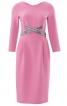 Сукня-футляр з перехрещеними планками - фото 2