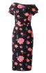 Сукня-футляр з широким коміром - фото 2
