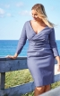 Сукня-футляр з ефектом запаху - фото 1