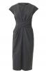 Сукня вузька з імітацією запаху і драпіровками - фото 2