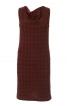 Сукня міні з хвилеподібним вирізом горловини - фото 2