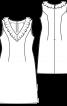 Сукня-футляр з розкльошеною спідницею - фото 3