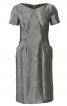 Сукня-футляр з кишенями і рельєфними швами - фото 2