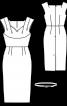 Сукня-футляр з Burda Moden 12/1957 - фото 3