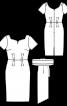Сукня-футляр із Burda Moden 9/1961 - фото 3