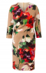 Сукня з рельєфними швами і ефектом запаху - фото 2