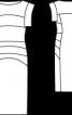 Сукня-футляр трикотажна з поперечними швами - фото 3