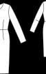 Сукня-футляр з довгими рукавами - фото 3