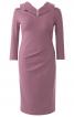 Сукня-футляр з ефектом запаху і складками - фото 2