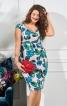 Сукня-футляр з широким вирізом - фото 1