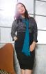 Сукня-футляр відрізна комбінована - фото 1
