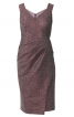 Сукня-футляр на широких бретелях - фото 2