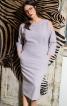 Сукня-футляр з відкритими плечима - фото 1
