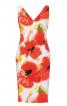 Сукня-футляр з декольте на спині - фото 2