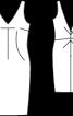 Сукня-футляр з декольте на спині - фото 3