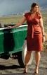 Сукня-футляр з приспущеними плечима - фото 1