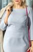 Сукня-футляр з оригінальними виточками на ліфі - фото 4