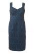 Сукня-футляр з декольте-сердечком - фото 2