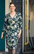 Сукня-футляр з рукавами 3/4 - фото 1