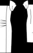 Сукня-футляр з рукавами-ліхтариками - фото 3