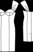 Сукня коктейльна на широких бретелях  - фото 3