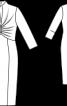 Вінтажна сукня-футляр в стилі 50-х - фото 3