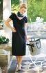 Сукня-футляр з воланами з органзи - фото 1