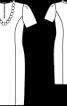Сукня-футляр мереживна - фото 3