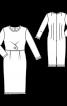 Вінтажна сукня-футляр - фото 3