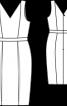 Сукня-футляр без рукавів - фото 3