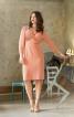Сукня з рукавами 3/4 і V-подібним глибоким вирізом - фото 1