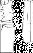 Сукня-футляр з воланом і драпіровками - фото 3