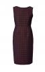 Сукня-футляр з V-подібним вирізом на спині - фото 2