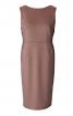 Сукня-футляр з глибоким вирізом на спині - фото 2