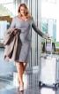 Сукня-футляр із завищеною талією - фото 1