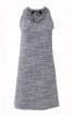 Сукня міні з відкритими плечима і декором з намистин - фото 2