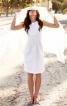 Сукня-футляр з вирізом горловини човником - фото 1