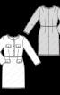 Сукня-футляр в стилі Gucci - фото 3
