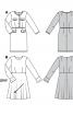 Сукня відрізна з розкльошеною спідницею - фото 6