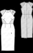 Сукня-футляр в стилі колор-блокінг - фото 3