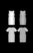 Сукня-футляр трикотажна в стилі колор-блокінг - фото 3