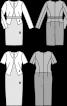 Сукня-футляр з геометричними лініями крою - фото 3